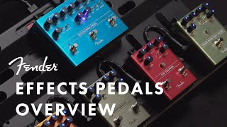 exploring Fender's Latest Effects Pedals  Effects Pedals  Fender