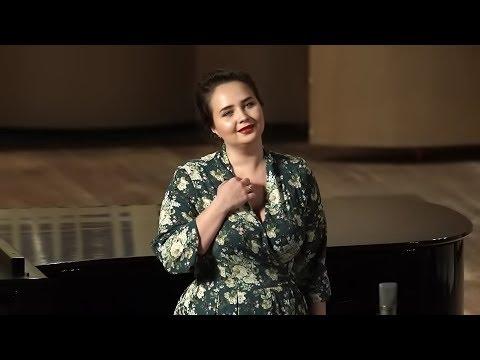 "Черёмуха (р.н.п.) - Анастасия Желуницина / ""Bird-cherry"" - Anastasia Jelunizina"