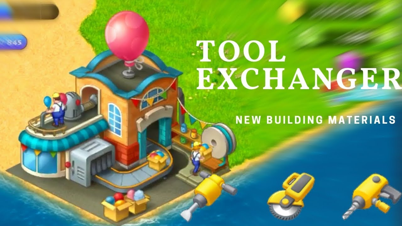 TOWNSHIP NEW BUILDING :TOOL EXCHANGE !!!!!
