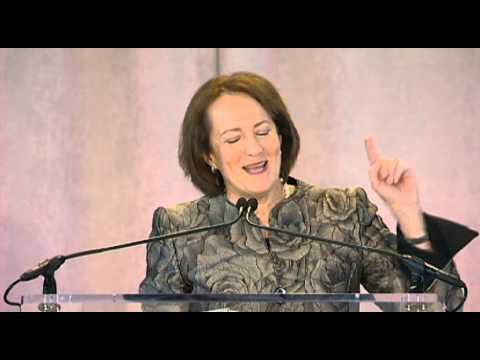 Karen Gordon Mills speaks April 4 at the W50 Summit at Harvard Business School