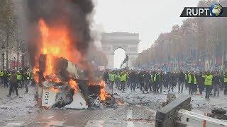 Митинги во Франции  24.11.2018