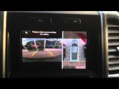 360 degree camera in the new 2015 F-150 Review