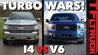 Both Chevy and Ford Now Sell New Turbocharged Trucks: Which One is Quicker?