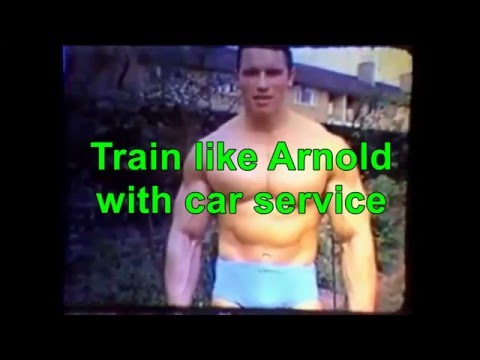 Train like Arnold with car service