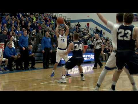 Napoleon vs. Anthony Wayne High School Boys Basketball 1-27-2017