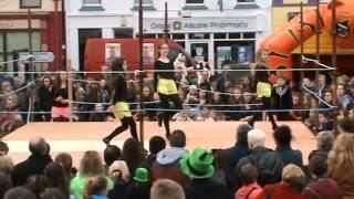 scoil rince carney finale dance castletownbere st patricks day 2014