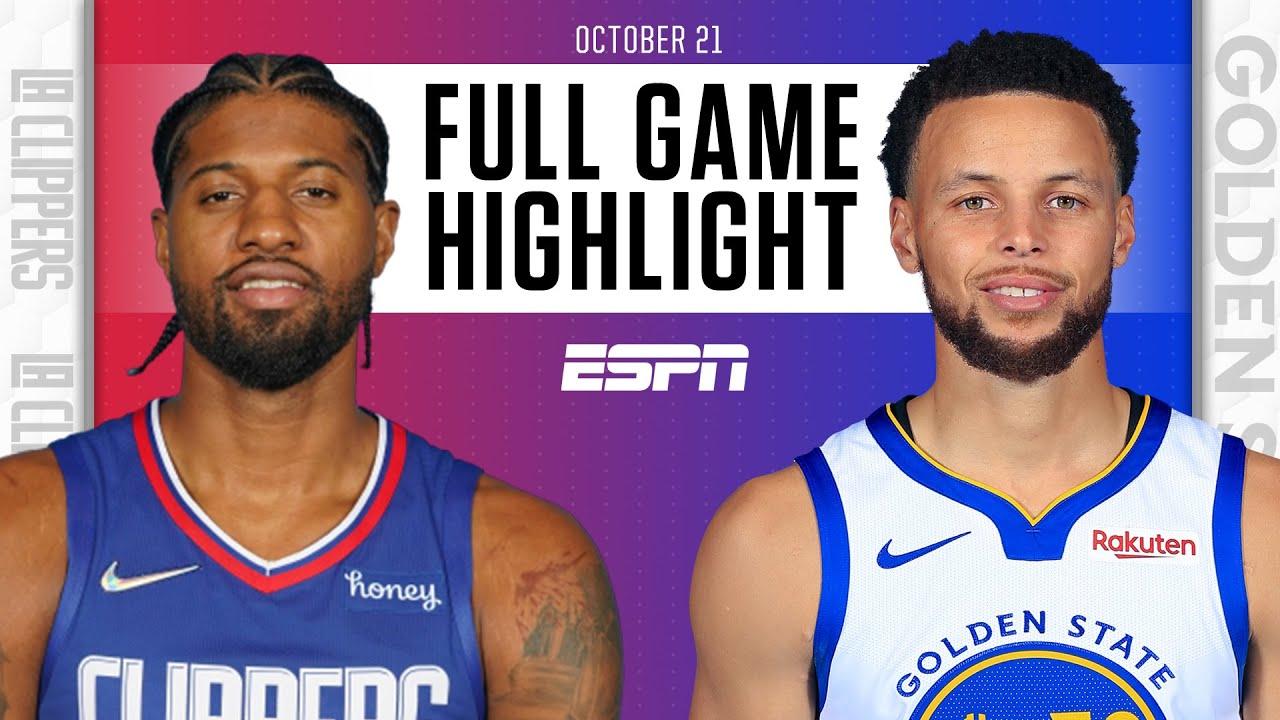 Clippers vs. Warriors - Game Recap - October 21, 2021 - ESPN