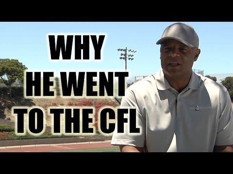 Warren Moon: Why he went to the CFL to play Quarterback