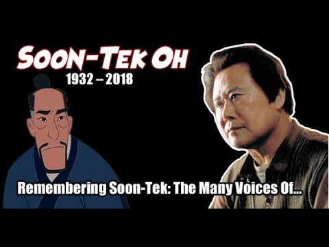 SoonTek Oh  R.I.P. TRIBUTE  In Memoriam The Many Voices  Characters of...