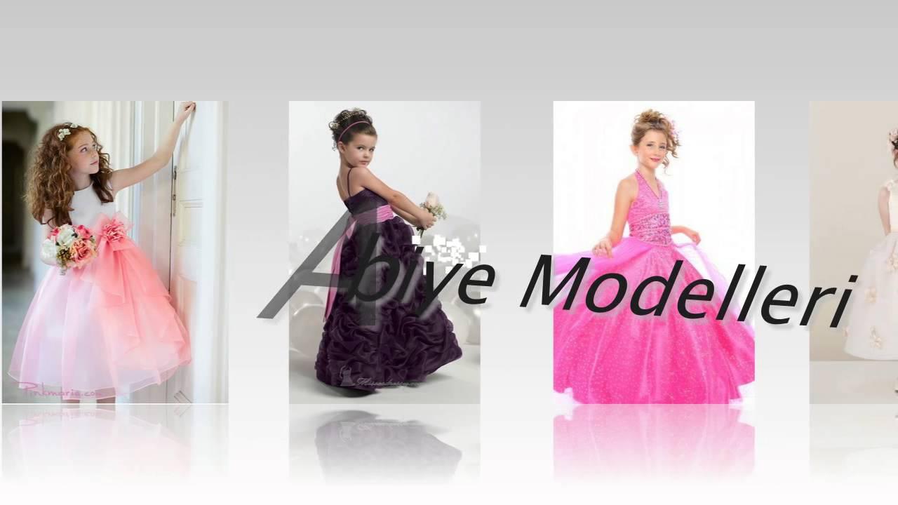 bae93a2794c1b Çocuk Abiye Modelleri - YouTube