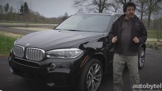 BMW X5 Diesel Road Test Video Review with Night Vision and Dynamic Light Spot Technology