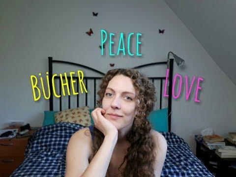 Love, Peace und Bücher, Vlog über Bücher, Booktube und Merkwürdigkeiten