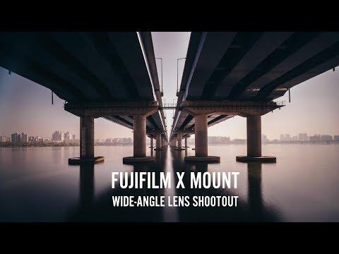 Wide Angle Lens Shootout on Fujifilm X