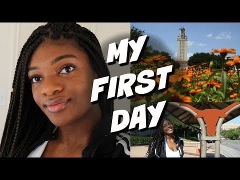 MY FIRST DAY OF COLLEGE | UNIVERSITY OF TEXAS AT AUSTIN