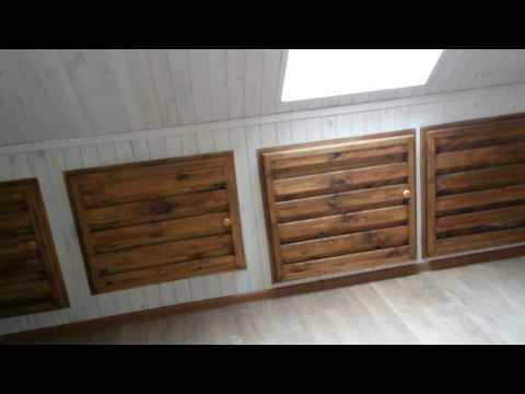 Деревянные дома 8х10м из оцилиндрованного бревна Дачные