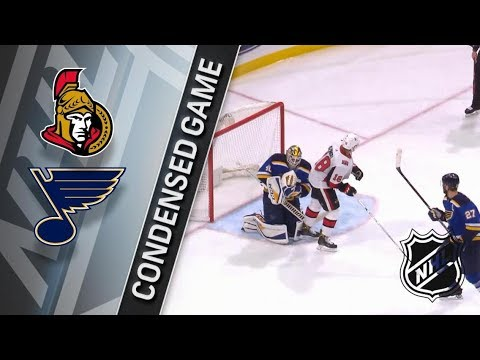 Ottawa Senators vs St. Louis Blues – Jan. 23, 2018 | Game Highlights | NHL 2017/18. Обзор матча