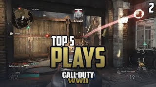 COD WWII: TOP 5 PLAYS OF THE WEEK #2 - Call of Duty World War 2