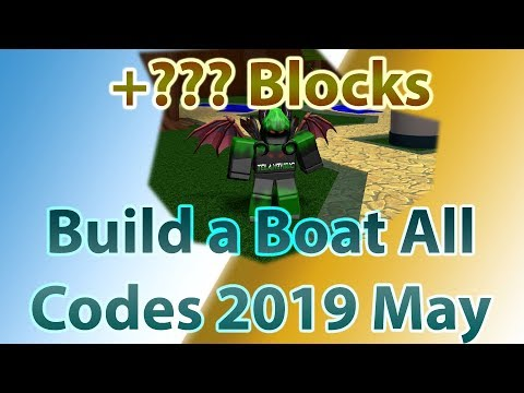 All Build a Boat for Treasure Codes!! [New Update!!] | May 2019