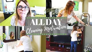 WHOLE HOUSE CLEANING MOTIVATION // CLEANING MOM
