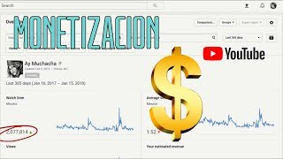 Nuevos requisitos para la monetización en YouTube 2018