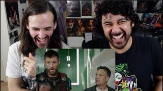 """Marvel Studio's """"THOR: RAGNAROK"""" - Meet the 'Revengers'! REACTION!!!"""