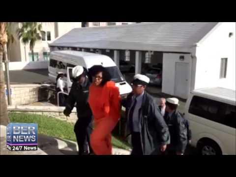 Kiahna Trott-Edwards  Arrives At Court, Dec 1 2015