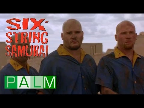 Six String Samurai: Buddy vs Bowlers (Movie clip)