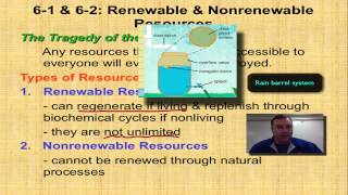 Chapter 6 Part 1 - Renewable and Nonrenewable Resources