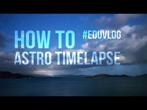 How to astro timelapse - From Hamilton island