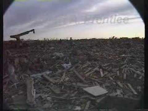 1991 april 27 andover kansas f5 tornado damage survey