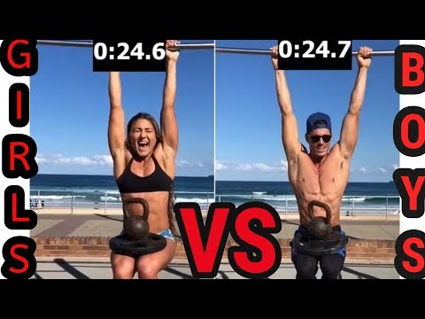 Girls VS Boys - Who Is The Strongest