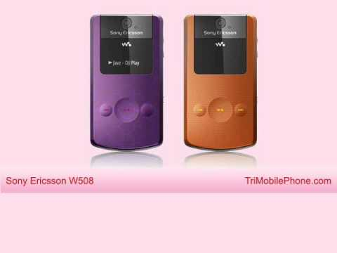 Sony Ericsson W508 Mobile Phone Specification, Features and Slide show