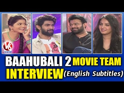 Baahubali 2 Movie Team Exclusive Interview With Savitri | Prabhas | Anushka | Rana | V6 News