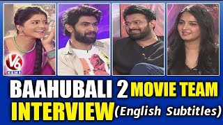 Baahubali 2 Movie Team Interview With Savitri | Prabhas | Anushka | Rana | V6 News