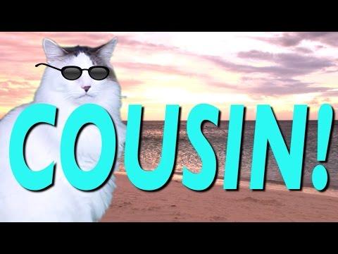 Happy Birthday Cousin Epic Cat Happy Birthday Song