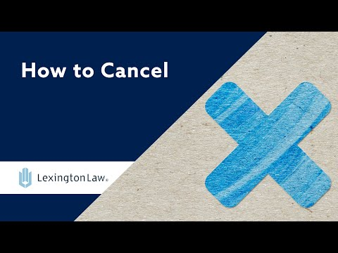 We Want You To Cancel | Lexington Law Review