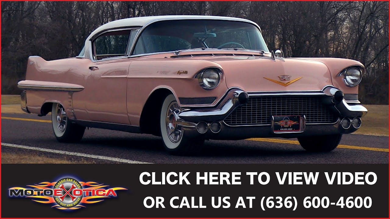 1957 Cadillac Coupe Deville For Sale Youtube