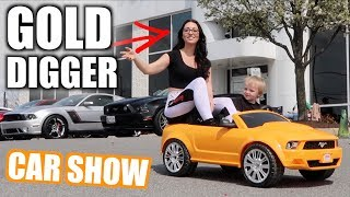 CAR SHOW TAKE OVER With Power Wheels - First Show with the GT500
