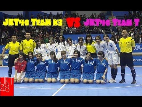 [FULL MATCH] JKT48 Team K3 (1) - (0) JKT48 Team T @POCARI SWEAT FUTSAL CHAMPIONSHIP 2016
