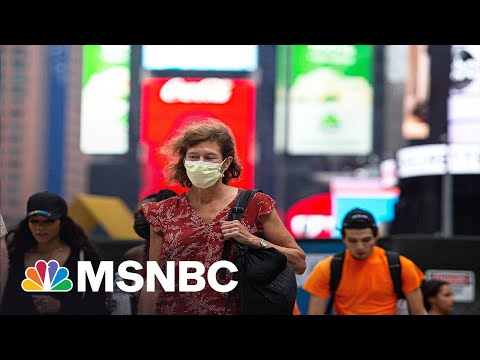 Hot Mask Summer? Americans Mask Back Up Indoors After New CDC Guidance