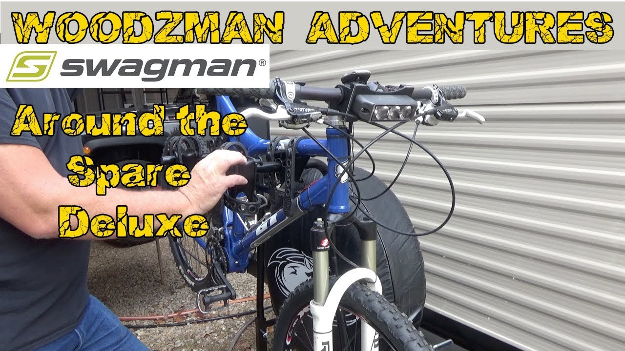Swagman Around The Spare Deluxe Rv Bicycle Rack Unboxing