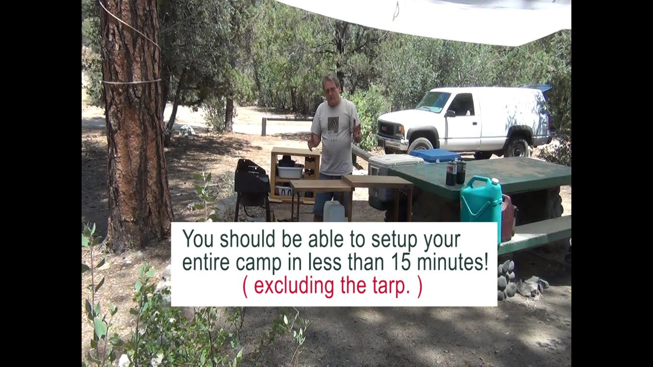 How To Setup The Camp Kitchen Youtube