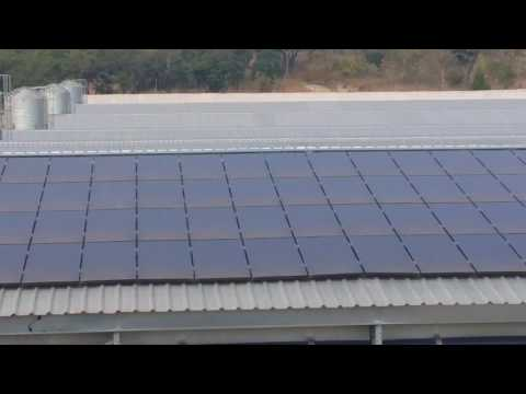 100kW Grid Tied Solar Power Plant - first in Zimbabwe 2013 by IMPACT Solar Energy