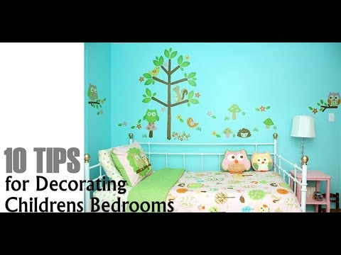 10 Tips For Decorating Childrenu0027s Bedrooms   Interior Design Ideas