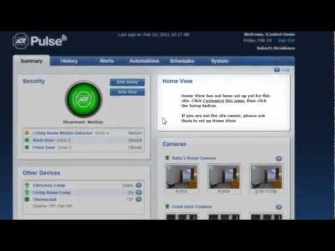 ADT Pulse Web Access Demo
