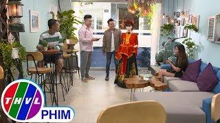 image THVL | Bí mật quý ông - Tập 254[4]: Mô hình cà phê robot giúp quán của Ba tạo ấn tượng với khách