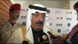 صاحب السمو الملكي الآمير متعب بن عبدالله يعقد مؤتمر كرنفال كؤوس الملوك