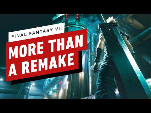 Final Fantasy 7 Preview - It's More Than a Remake