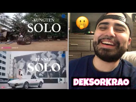 """Reacting To Deksorkrao (KUNGTEN) From Thailand Cover Of Jennie """"SOLO"""""""