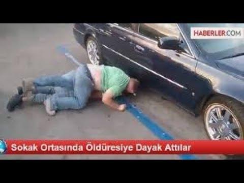 sokak Terörü  Kadıköy'ün ortasında isyan ettiren dayak   Son Dakika Haberler